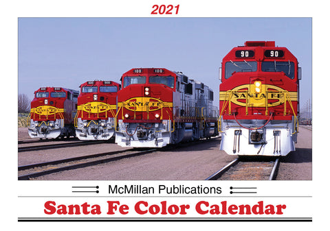 McMillan Publications, Inc. — 2021 SANTA FE COLOR CALENDAR