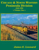 CHICAGO & NORTH WESTERN PENINSULA DFIVISION - VOL 1: 1940-1996/Lewnard