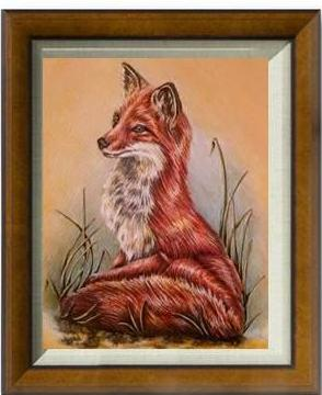 Fine Art Print: Red Fox In Profile, , ArtistrybyLisaMarie