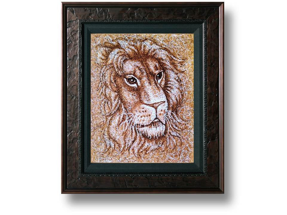 Fine Art Print: Drawing of Lion, , ArtistrybyLisaMarie