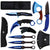 7pc Tactical Knife Set Blue