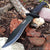 Tactical Bowie Survival hunting Black Knife Military