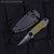Survival Neck Knife Black