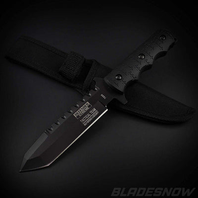 Fixed Tactical Knife Black