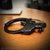 Professional grade handcuffs black color double locking