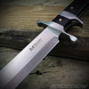 Stainless steel pakkawood handle knife