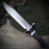 Pakkawood handle fixed blade full tang knife