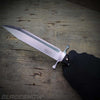 Fixed blade full tang bolster knife