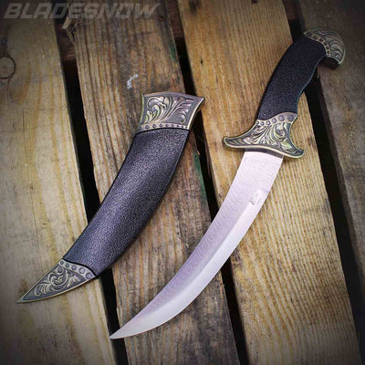 Collectible Medieval Dagger Black