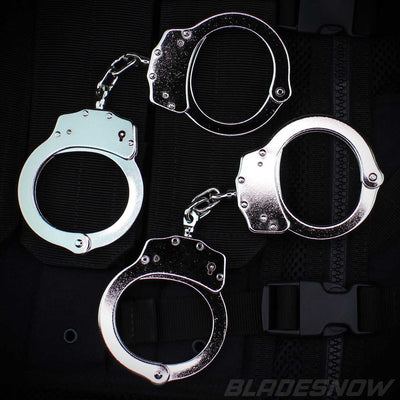 2 pair of Professional Double Locking Handcuffs