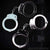 Professional Grade Handcuffs Nickel Plated 2 Pairs