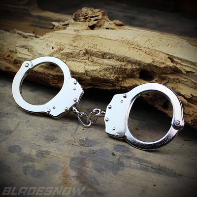 Professional Double Locking Handcuffs - bladesnow