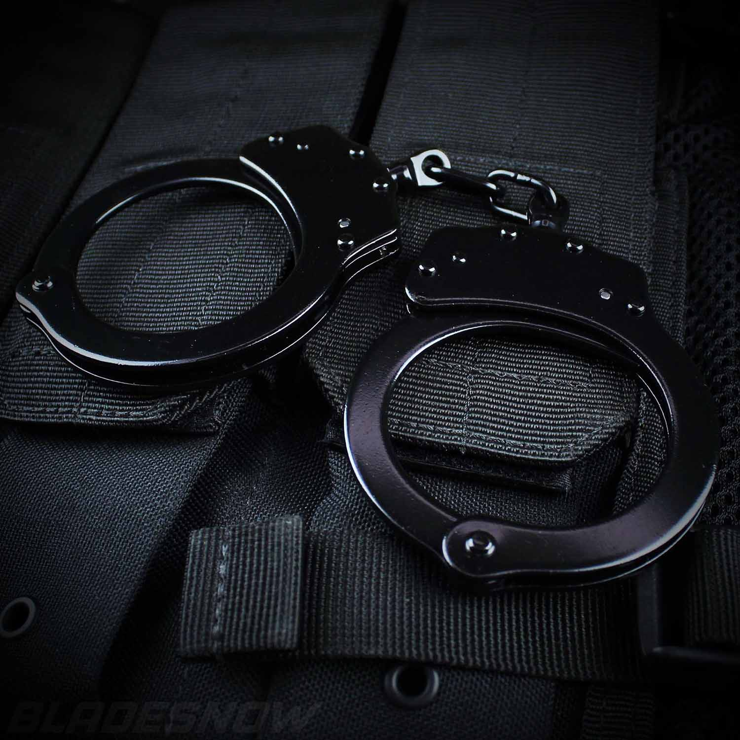 Professional Grade Handcuffs Black Double Locking