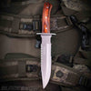 Tactical Fixed Blade Bowie Knife