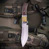 2-Tone hunting partial tang knife | Fixed blade knives