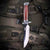 Cherry Wood Bowie Hunting Knife | Fixed Blade Knife