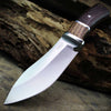 2-Tone hunting knife partial tang