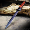 "Big Boy Stiletto 13"" Spring Assisted Pocket Knife Black"