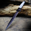 "Big Boy Stiletto 13"" Pearl Spring Assisted Pocket Knife Black"