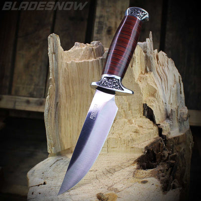 Stainless steel hunting knife