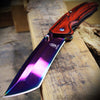 Japanese Redwood Aura Katana | Assisted Pocket Knife