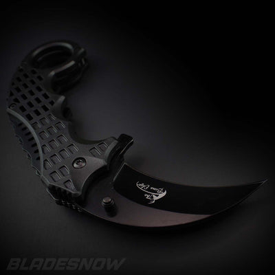 sharp blade karambit claw knife
