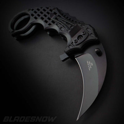 Matrix Karambit Claw Knife at bladesnow