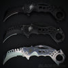 Mack Schmidt Karambit Spring Assist Folders Set 3pc