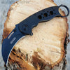 Karambit Spring Assisted Pocket Knife Black