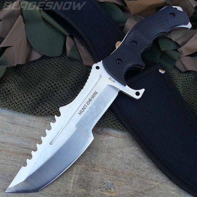 Video Game Tactical Fixed Blade Bowie Knife