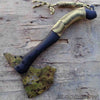 Tactical throwing camo coated axe