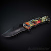 Fantasy Dragon Spring Assisted Pocket Knife