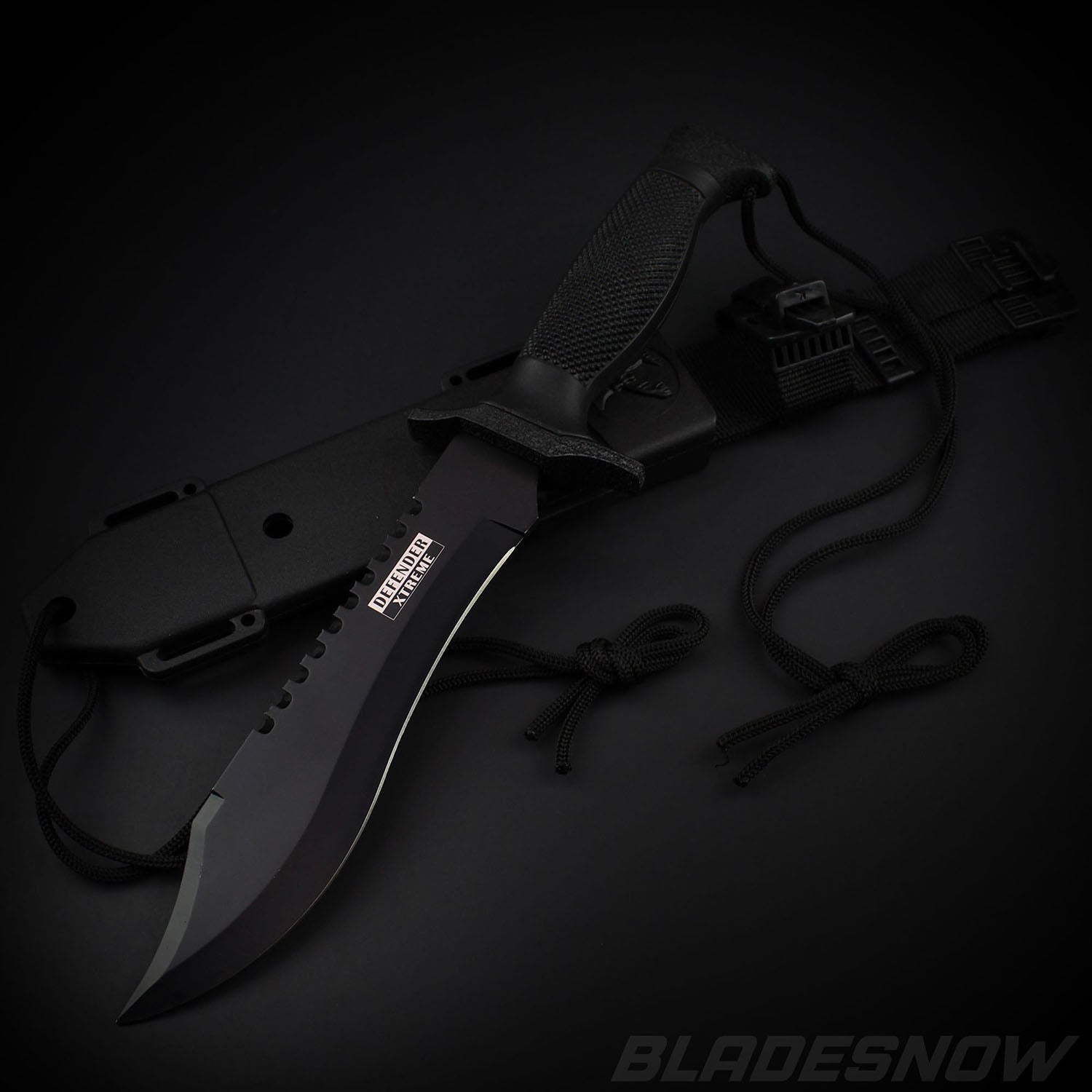 Combat Bowie Knife Black