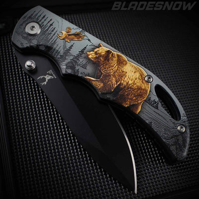 Grizzly Bear Spring Assisted Pocket knife