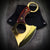 Pocket Axe Cleaver Gold