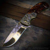 Westren cowboy knife in gold