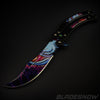 Hyper Beast Video Game IRL Balisong Knife (Sharp)
