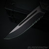 Gunmetal Wolf Dual Action OTF Knife