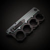Brass Knuckle Spring Folding Pocket Knife with clip