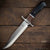 Fixed Blade Tactical Bowie Knife | Dual Tone Wood Handle