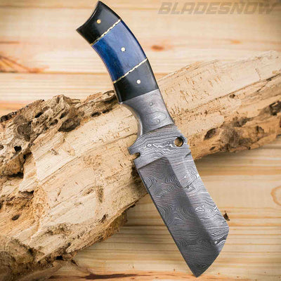 Damascus Fixed sharp Blade Knife