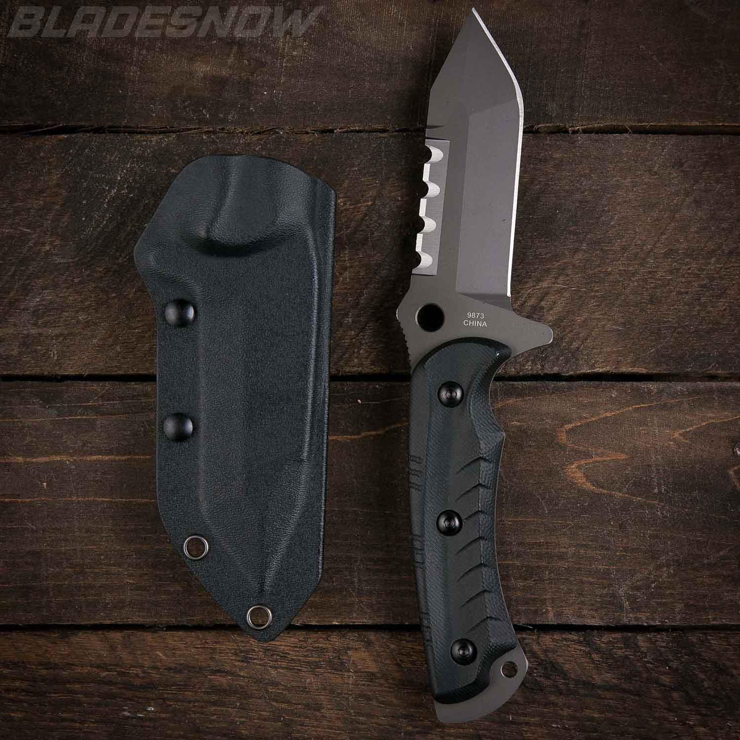Combat Tactical Tanto G10 | Fixed Blade Knives