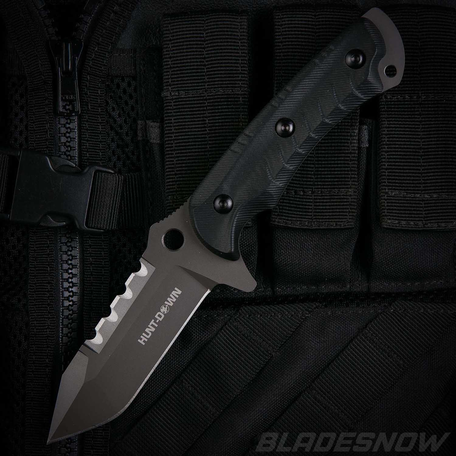 Combat Tanto G10 + Kydex Sheath