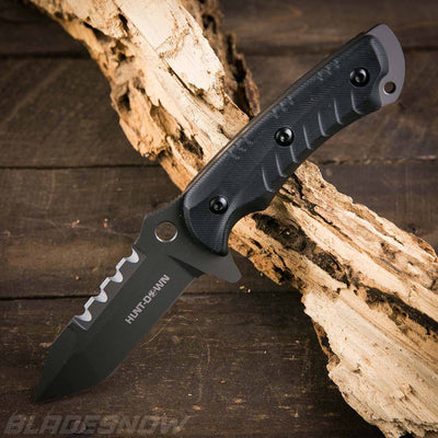 Sharp fixed blade tactical knife