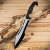 Fixed blade tactical bowie knife
