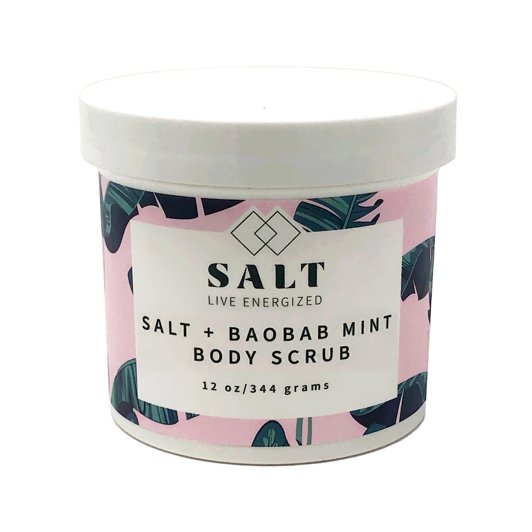 SALT + Baobab Mint Body Scrub