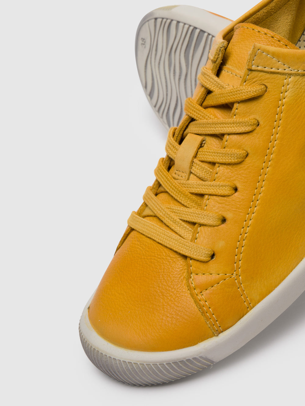 Lace-up Trainers ISLA Yellow