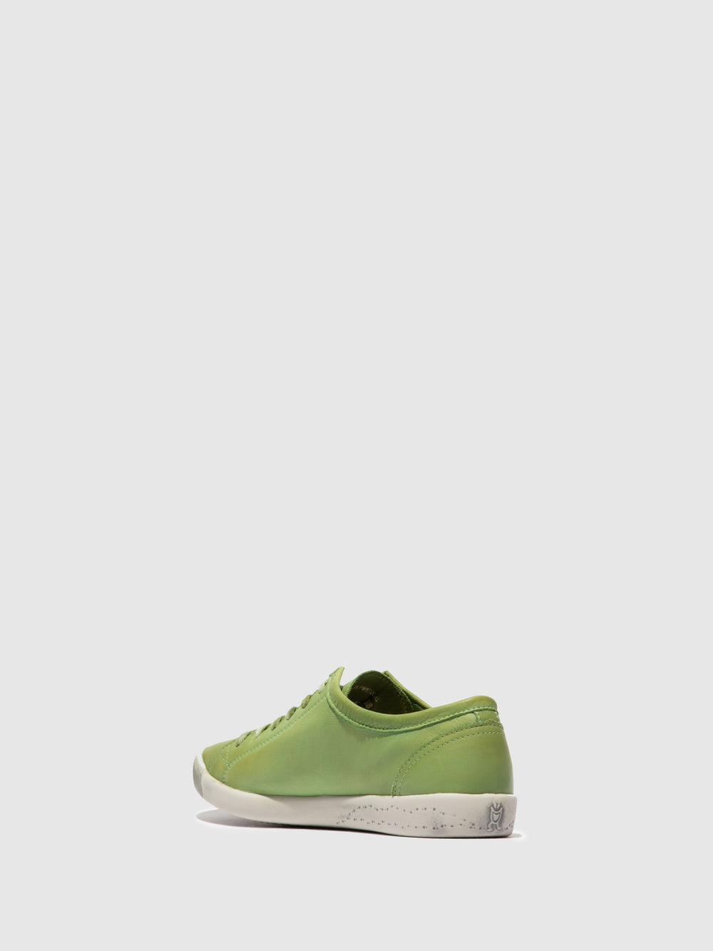 Lace-up Trainers ISLA WASHED APPLE GREEN