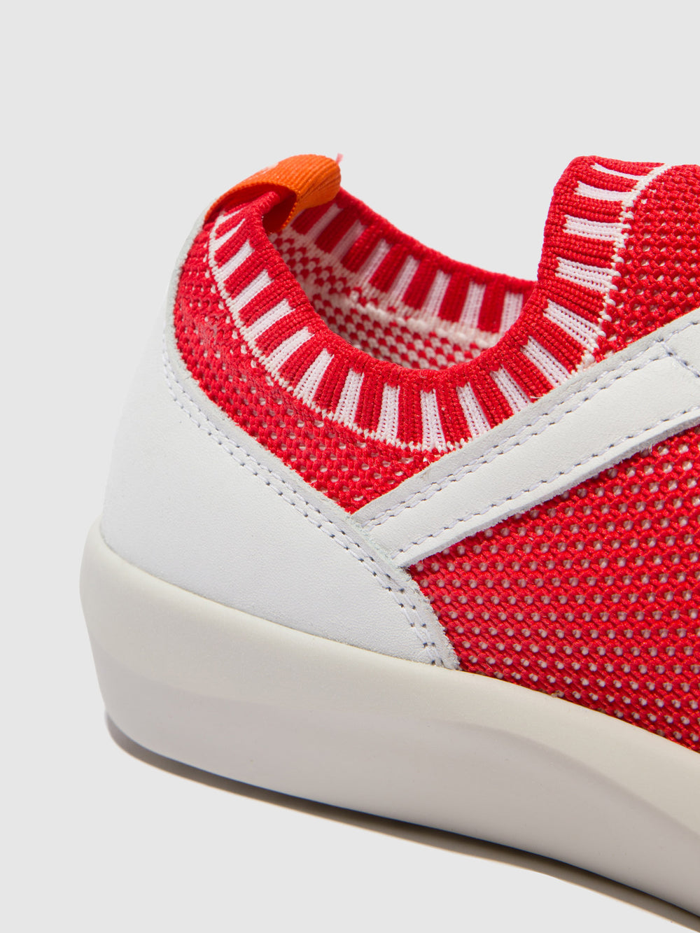Lace-up Trainers BEAE565SOF RED/WHITE