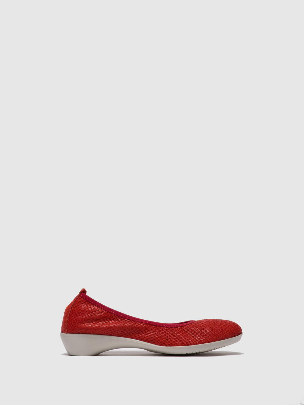 Round Toe Ballerinas GLOR566SOF Devil Red